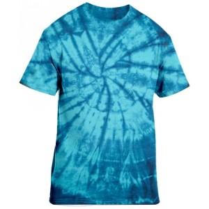 Tie-Dye Blue Short Sleeve
